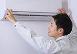 工事日にお家へお伺いし、エアコンを取り外します!